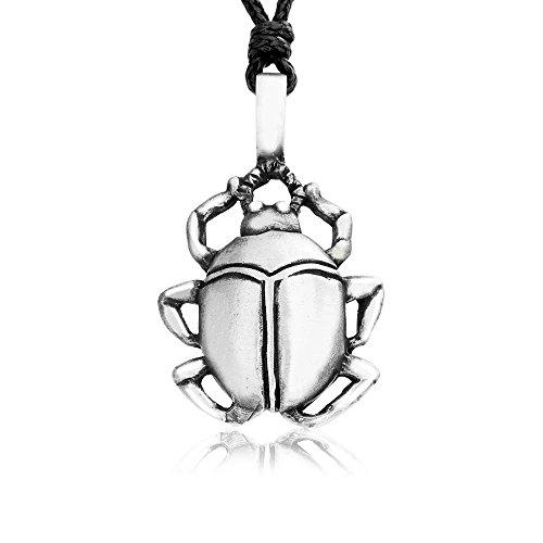 llords-escarabajo-egipcio-peltre-colgante-collar