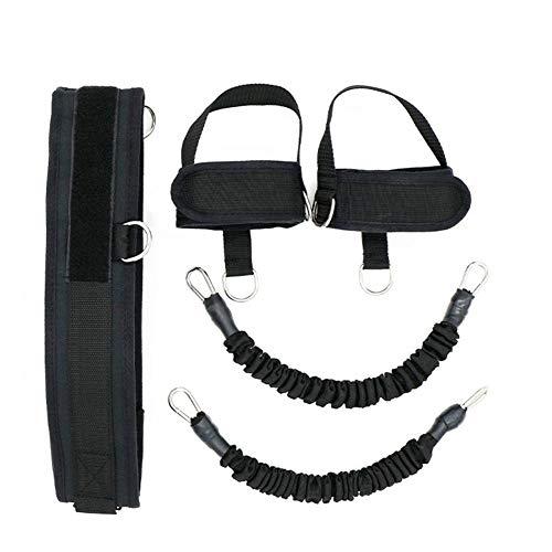 Shumo 6 pz/set gambe elastiche per allenamento gamba esercizio nero elastici in gomma jumping training fasce elastiche fitness fasce di resistenza in lattice