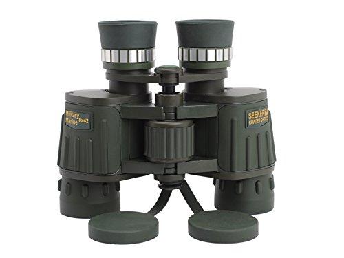 8x42 Hochleistungs HD Grün Volle Mehrfachvergütung Bak4 Militär Marine High Definition Day & Night Vision Binocular Telescope für Backpacking Wandern Klettern