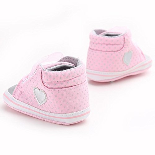 Clode® Nette Kleinkind Baby Mädchen Schuhe Weiche Sohlen Lässige Schuhe Sneaker Rosa