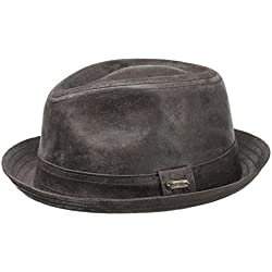 Sombrero Player Piel Radcliff by Stetson (XL/60-61 - marrón )