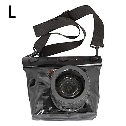 kardu.c Wasserdichte Kamerahülle - Kompaktkamera-Taschen,Unterwasserhülle Kameratasche Kamera Regenschutz wasserdicht - Outdoor Beachbag Strandtasche