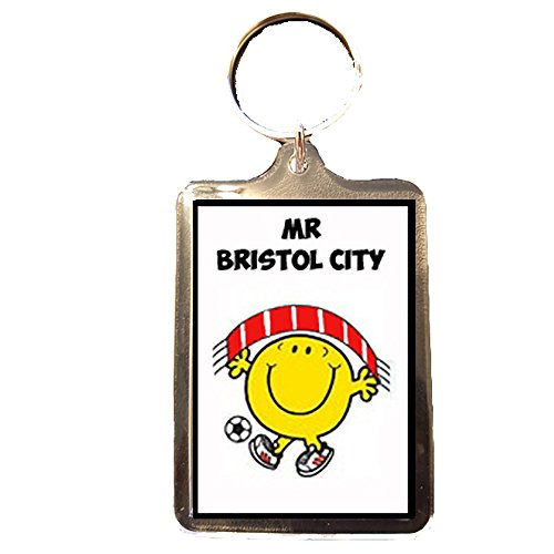 Bristol City F.C - Mr Bristol City Keyring