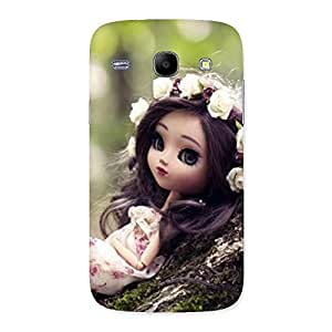 Delighted Angel And Tree Multicolor Back Case Cover for Galaxy Core