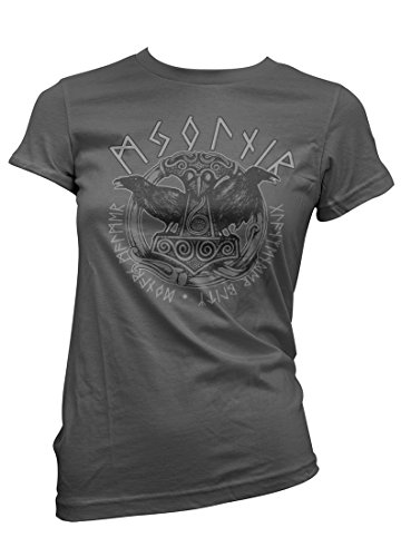 Wotan Textil -  T-shirt - Basic - Donna charcoal XX-Large