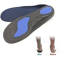 Kobwa Schuh-Einlegesohlen, Hohlfuß-Unterstützung, Einlegesohlen für Flachfuß und O-Bein, orthopädische Einlagen... preisvergleich bei billige-tabletten.eu
