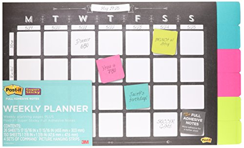 post-it-weekly-planner-18-x-12-26-weeks-w-6-pads-of-2-x-2-super-sticky-notes