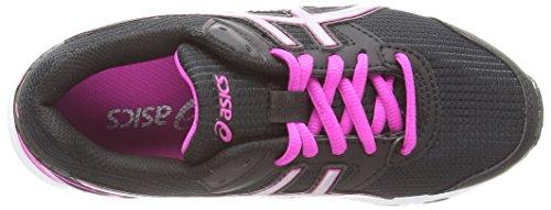 Asics Gel-galaxy 8 Gs, Chaussures de Running Entrainement Mixte enfant Noir (Black/Silver/Pink Glow 9093)
