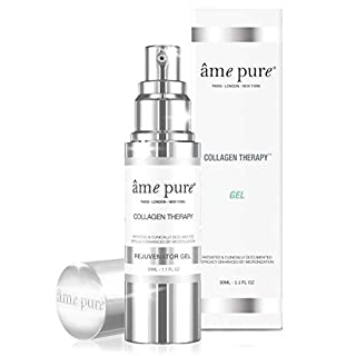 âme pure® Collagen TherapyTM Gel 100% Natural Treatment to Reduce Pores and Smooth Fine Lines with Betox-93® Active Ingredient (30ml)