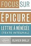 Epicure, Lettre à Ménécée : Texte intégral