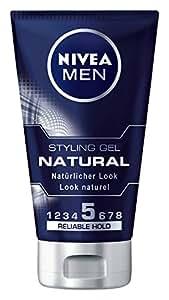 Nivea Men Natural Styling Gel, 3er Pack (3 x 150 ml)