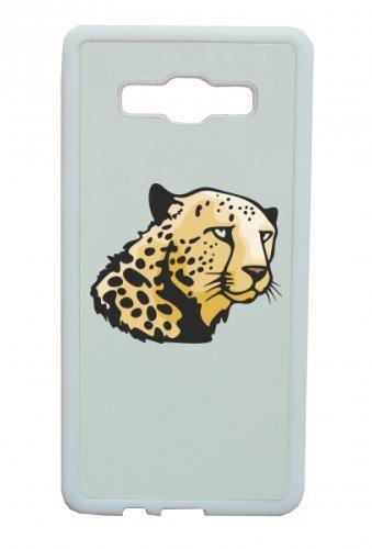 Smartphone Case testa di leopardo deserto Africa per APPLE IPHONE 4/4S, 5/5S, 5C, 6/6S, 7& Samsung Galaxy S4, S5, S6, S6Edge, S7, S7Edge Huawei HTC-Divertimento Motiv di culto Id