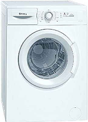Balay 3TS853B Independiente Carga frontal 5.5kg 955RPM A+ Color blanco - Lavadora (Independiente, Carga frontal, A+, D, Color blanco, Izquierda)