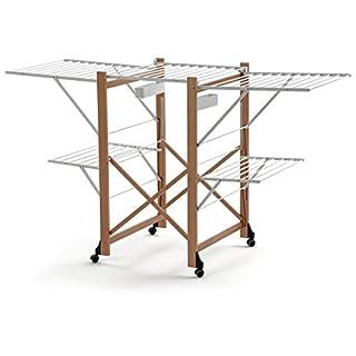 Arredamenti Italia AR_IT- 600 GABBIANO drying rack 30 meters of useful line, Finishing cherry