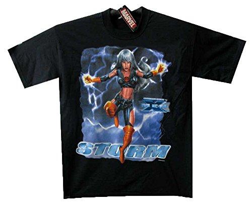 T-Shirt Storm, schwarz, M (Captain America Kostüme Ideen)