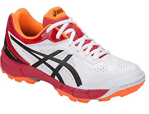 ASICS Men's White/Black Cricket Shoes-10 UK 45 Euro(P613Y.100-10-WHITE/BLACK)