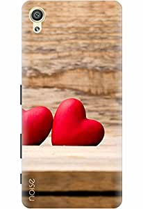 Noise Designer Printed Case / Cover for Sony Xperia X Dual / Patterns & Ethnic / Love Design