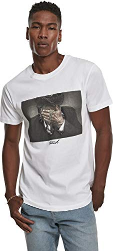 Mister Tee Herren Trust T-Shirts, White, M