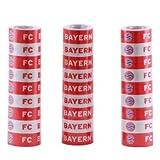 FC Bayern München Luftschlangen rot/weiß
