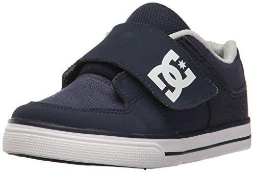 DC , {Chaussures premiers pas pour bébé (garçon) Bleu Marine