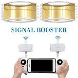 Hete-supply Amplificatore di Segnale, Amplificatore di Antenna da 8 4 cm, Telecomando per estensore della Portata del Segnale per Drone Pieghevole Xiaomi