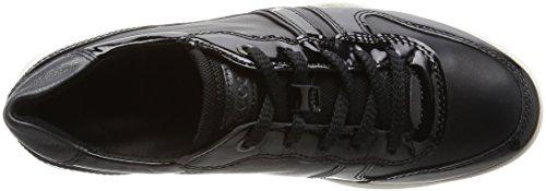 Ecco Mobile III, Scarpe Stringate Donna Nero(Black/Black 51052)
