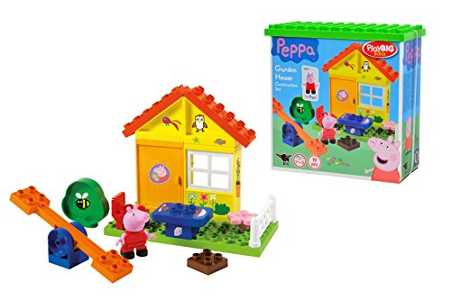BIG 57073 - PlayBIG Bloxx Peppa Pig Gartenhaus
