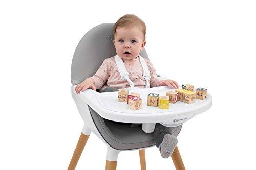 Kinderkraft FINI Kinderhochstuhl Treppenhochstuhl Babyhochstuhl Kombihochstuhl Hochstuhl - 8
