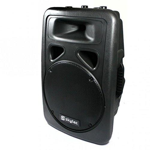 Skytec PA Boxen DJ-Lautsprecher Paar 30cm (12 Zoll) DJ PA Boxen 2x Lautsprecher 2000W Outdoor… (Dj-setup Mit Lautsprecher)