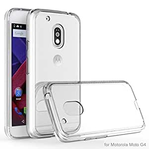 Transparent Back Cover FOR Moto G Plus 4th Gen (BUY 1 GET 1 FREE) + OTG CABLE FREE