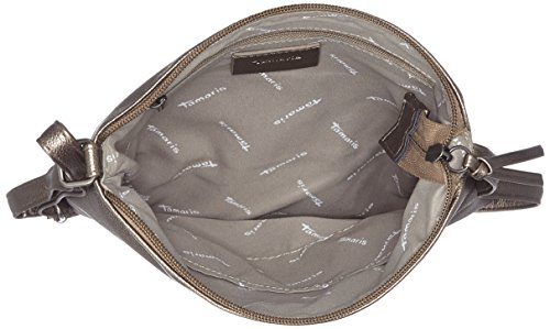 Tamaris - Louise Crossbody Bag/ Pack 4 Pcs, Borse a tracolla Donna Grigio (Pewter)