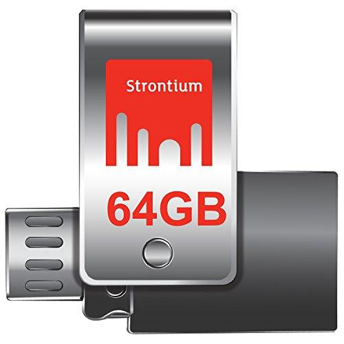 Strontium Nitro Plus OTG Pen Drive, USB3.0, 64GB