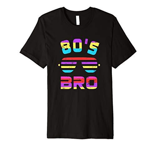 80er Jahre Bro T-Shirt 80er Jahre Party Tee (Jahre 80er Kleidung Jungen)
