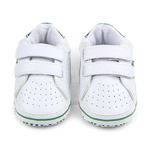 BZLine® Baby Soft fünfzackige Sterne Baby Kleinkind Schuhe Sneaker Kleinkind Schuhe Grün