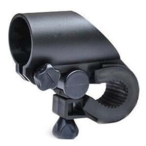 Domire Bike Bicycle Clip Clamp Mount Bracket Front Light Flashlight Holder(2 pcs)