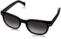 Tommy Hilfiger Womens TH1305S Wayfarer Sunglasses, Black Gray Spot & Gray Gradient, 51 mm