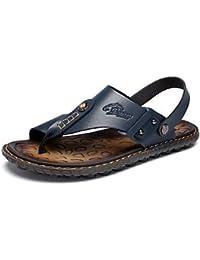 SHUAIGUO&shoes Sandales Homme Marche Homme Chaussures Tissu Printemps Automne Confort Sandales Pour Décontracté Noir, us7/eu39/uk6/cn39