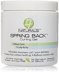 4Naturals Spring Back Curling Custard, 6 oz