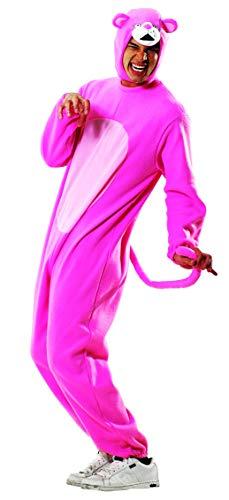 Rosa Elefant Kostüm Für Erwachsene - Foxxeo Panther Kostüm Overall Pink Größe