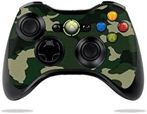 GADGETS WRAP Printed Protective Vinyl Skin Decal For Microsoft Xbox 360 Controller Wrap Sticker Skins Green Camo -CO-