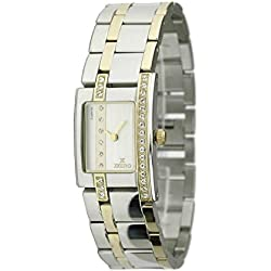 Zzero zz5002e Ladies Quartz Stainless Steel Watch Strap Quandrante Steel