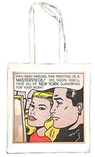 Roy Lichtenstein Masterpiece Sac fourre-tout