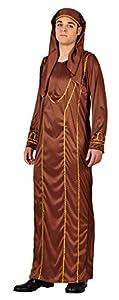 Atosa- Disfraz Jefe árabe, Color marrón, M-L (17629)