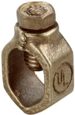HALEX/SCOTT FETZER 5/8-Inch Bronze High-Strength Ground Rod Clamp (Clamp Ground Bronze)