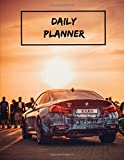 BMW M3  Undated Quarterly Planner for Men: Custom interior to write in with to do lists, notes, calendar. Perfect gift for: husband, dad, boyfriend, brother