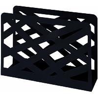 HAKU Möbel 44596 Zeitungsständer 35 x 10 x 26 cm, schwarz