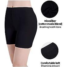 Leggings Court Femme Short sous Jupe Pantalon de Sport élastique Doux légers 6b86e7a0734