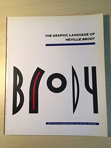 The Graphic Language of Neville Brody Buch-Cover