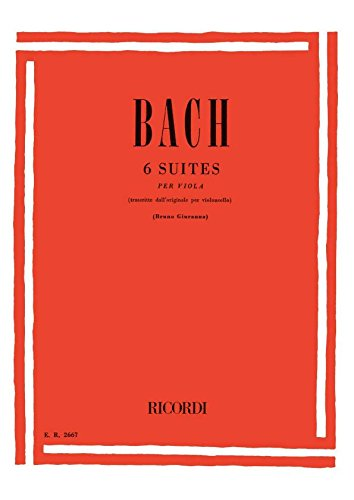 6 Suiten Bwv 1007-1012 (Vc). Viola