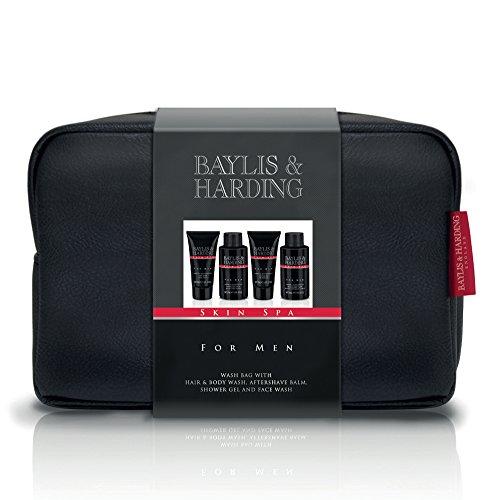 Baylis & Harding Wash Bag, Amber and Sandalwood